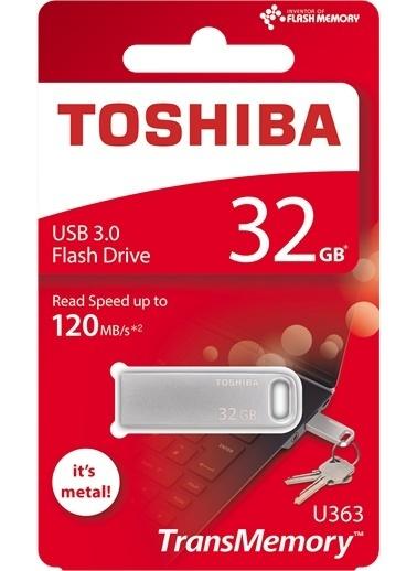 Toshiba 32Gb Usb 3.0 Metal O:120Mb/Sn (Bıwako) Renkli